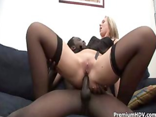 golden-haired like dark cock, the larger the more