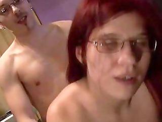 sexy dilettante redhead fucking