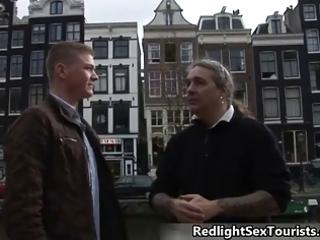 lascivious german lad comes to amsterdam