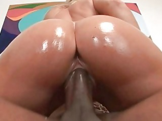 concupiscent blond doxy screwed roughly by hung