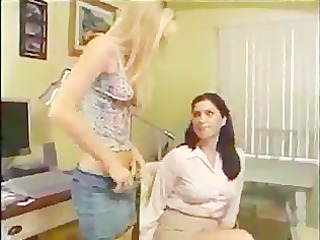 teacher disrobes and spanks student