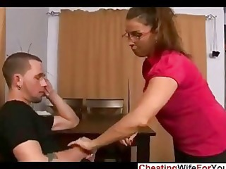 big beautiful woman abode wife acquire a load