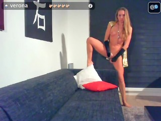 web camera golden-haired toys her hairless love