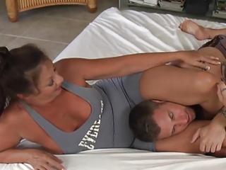 wrestling with mamma