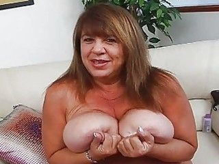 older momma with supplementary biggest bosom