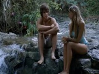 Indiana Evans Topless Sex From Blue Lagoon